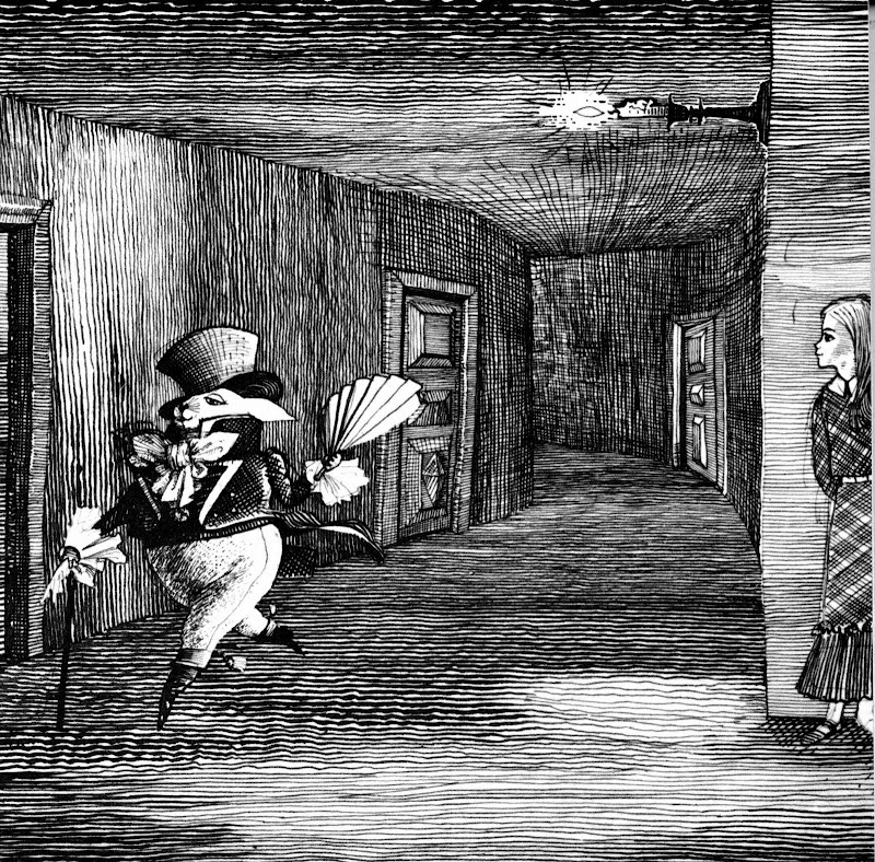Иллюстрация из книги «Алиса в стране чудес»