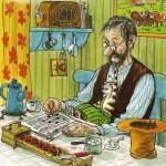 """Sven Nordqvist """"История о том, как Финдус потерялся, когда был маленький"""""""