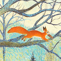 Петр Багин «В лесу»