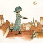 "Kate Greenaway ""Under the window"""