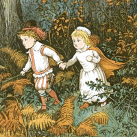 Randolph Caldecott «The babes in the wood»
