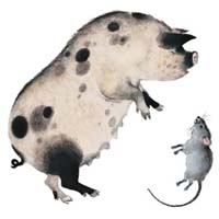 Владимир Лебедев «О глупом мышонке»