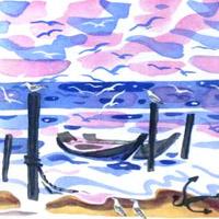 Май Митурич «Чудесная лодка»