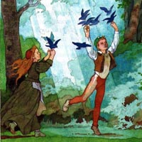 Борис Дехтерёв «Синяя птица»