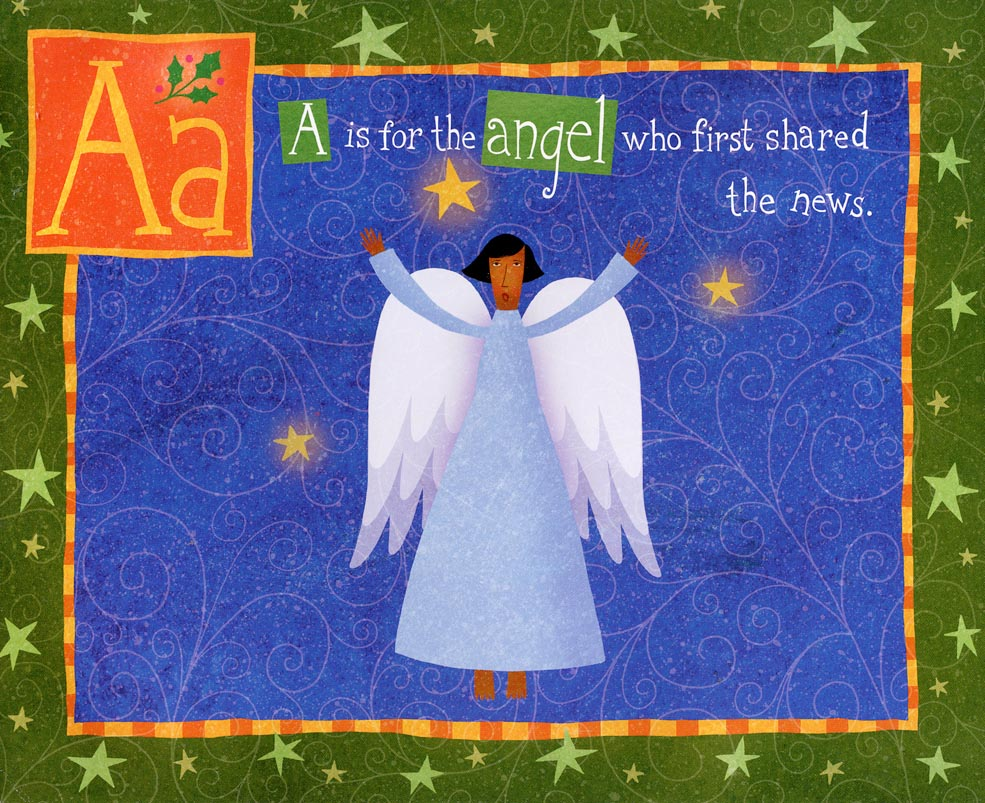 "Jan Bryan-Hunt ""A is for angel"""
