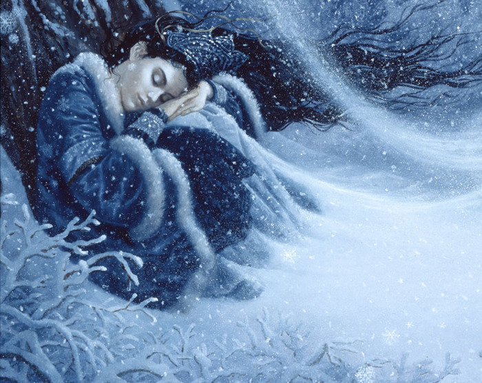 "Ruth Sanderson ""The Snow Princess"""
