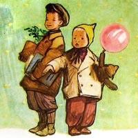 Фёдор Лемкуль «Клетчатый гусь»