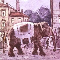 Давид Боровский «Слон»