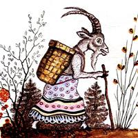 Юрий Васнецов «Волк и козлята»
