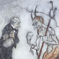 Arthur Rackham «A Christmas carol»