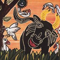 Baba Wague Diakite «Hunterman and crocodile»
