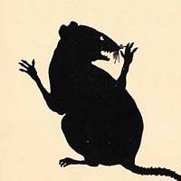 """Wilhelm Busch """"De muis, of De gestoorde nachtrust"""""""