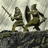Глеб Бедарев «Сигурд победитель дракона»