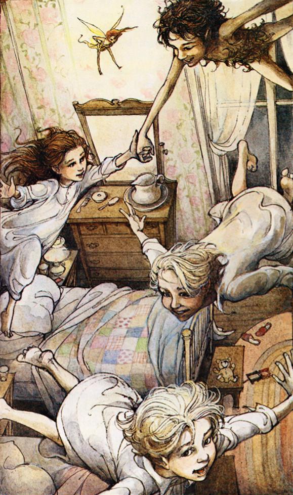 """Trina Schart Hyman """"Peter Pan"""""""