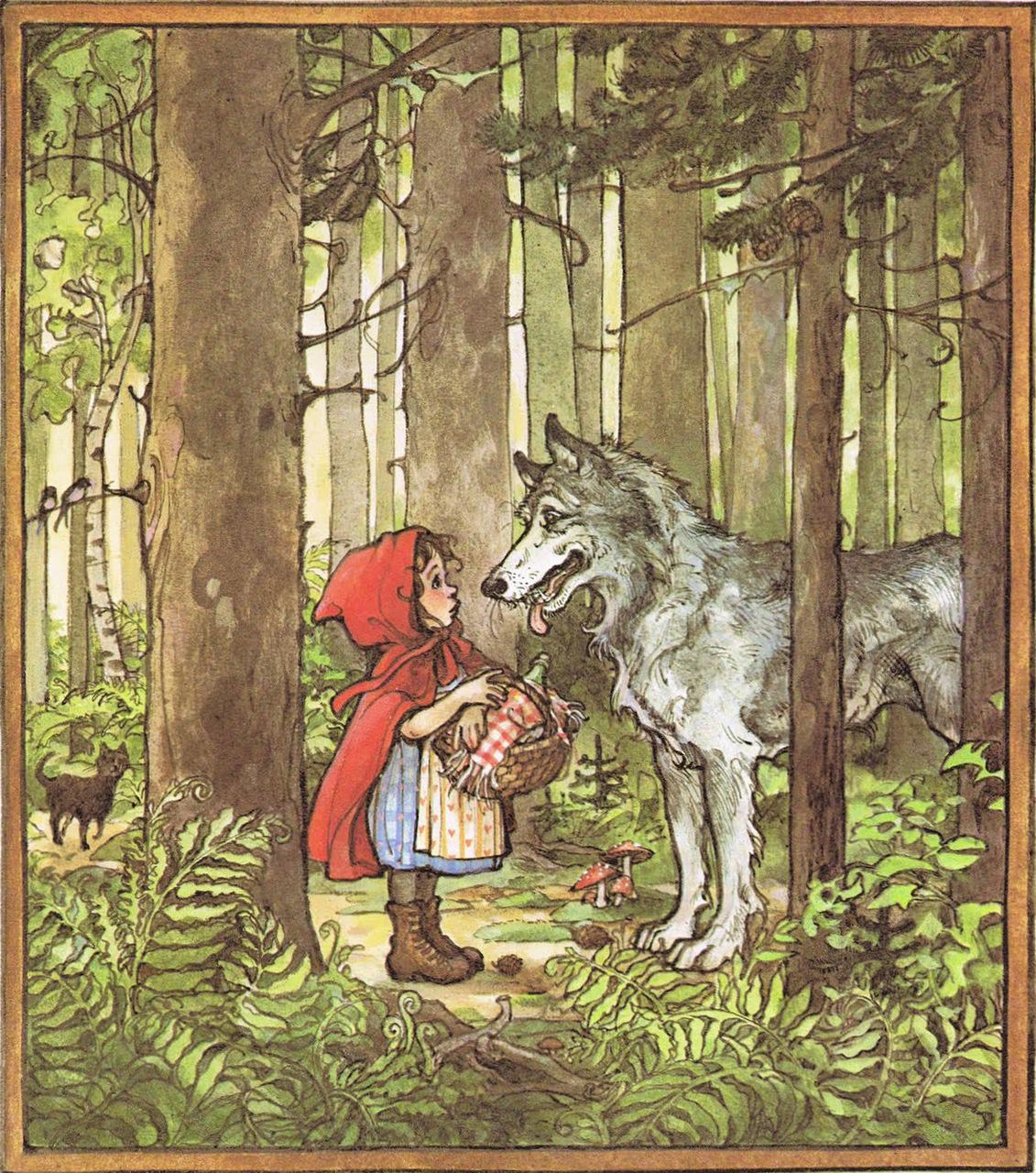 """Trina Schart Hyman """"Little Red Riding Hood"""""""