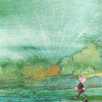 John Burningham «John Patrick Norman McHennessy: the boy who was always late»
