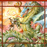 Trina Schart Hyman «Saint George and the Dragon»