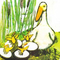John Burningham «Borka: The Adventures of a Goose With No Feathers»