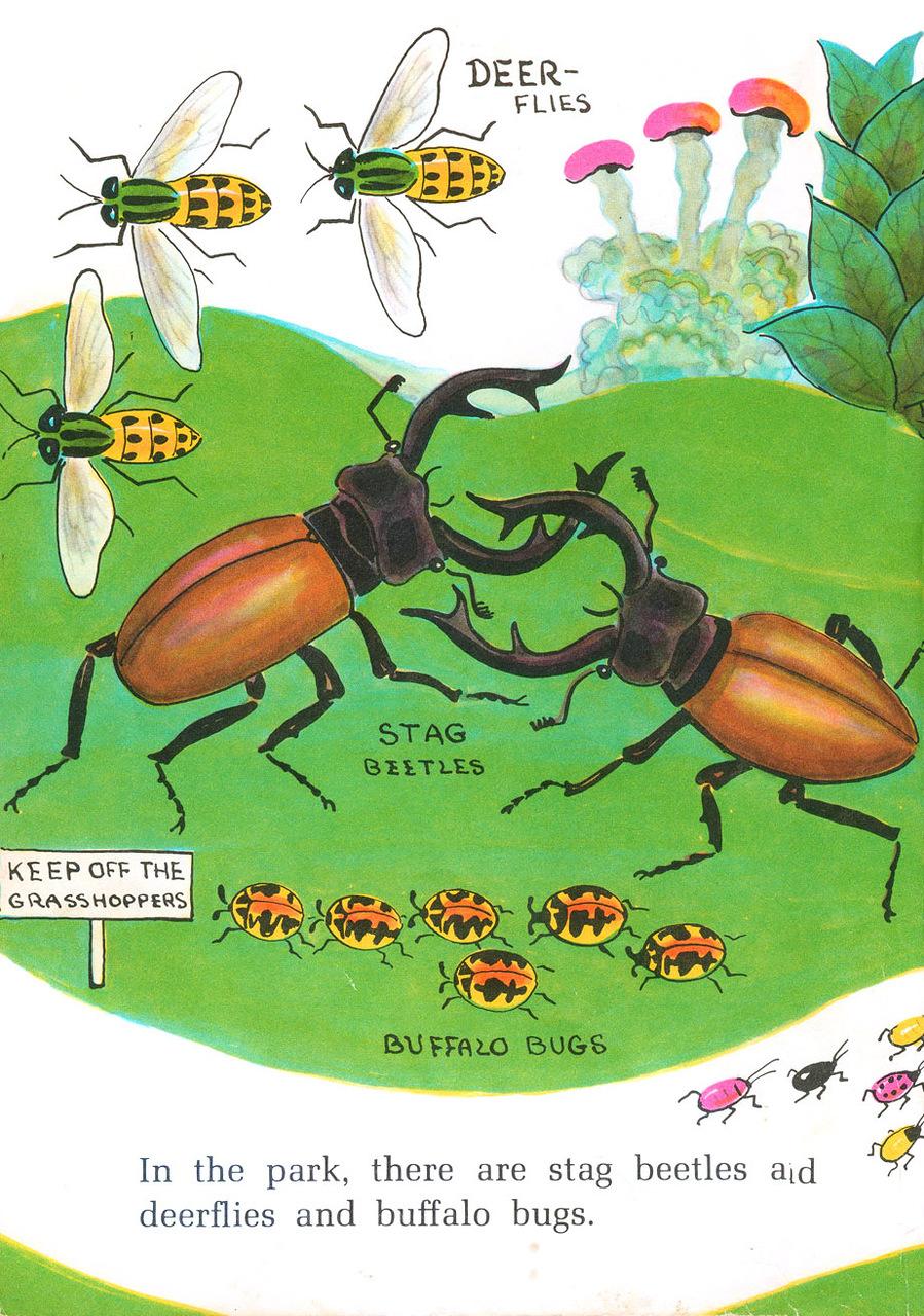 """Dahlov Ipcar """"Bug City"""""""
