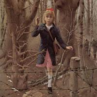 Rose Blanche dans la forêt