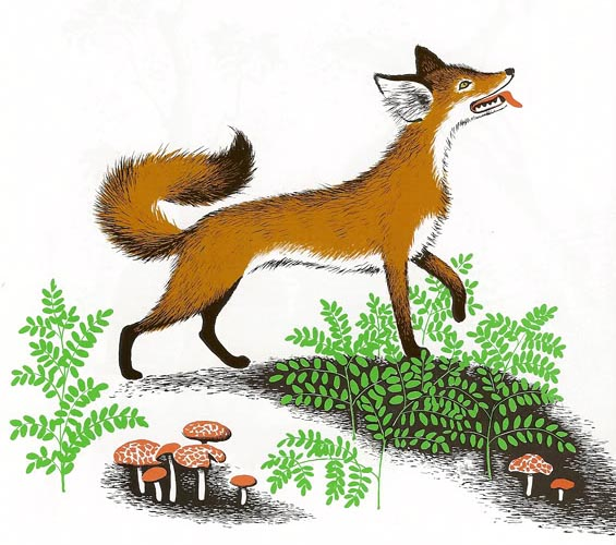 "Barbara Cooney ""Chanticleer and the Fox"""
