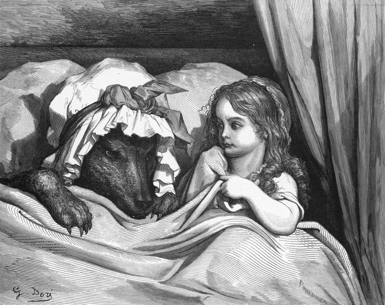 "Gustave Doré ""Волшебные сказки Перро"""