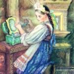 "Александра Якобсон ""Малахитовая шкатулка"""