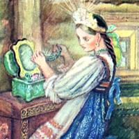 Александра Якобсон «Малахитовая шкатулка»