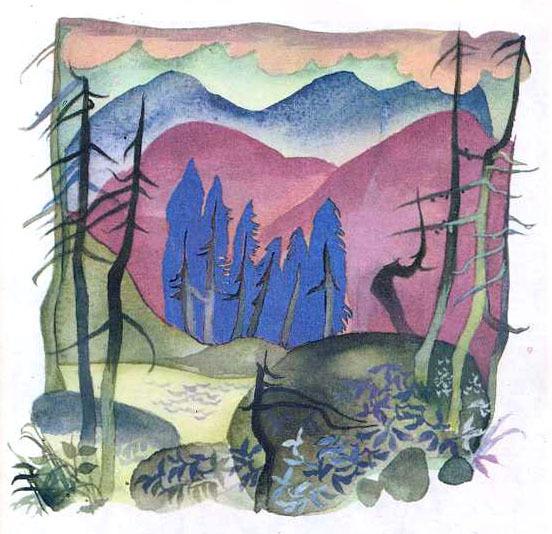"""Владимир Чапля """"Там, в горах, красивые озера"""""""