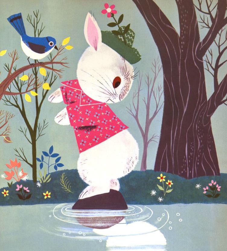 """Alice & Martin Provensen """"Funny Bunny"""""""