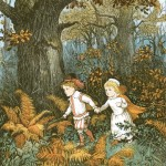 """Randolph Caldecott """"The babes in the wood"""""""
