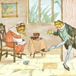 """Randolph Caldecott """"Frog he would a-wooing go"""""""