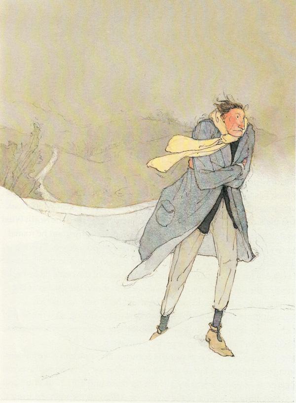 """Lisbeth Zwerger """"The Selfish Giant"""""""