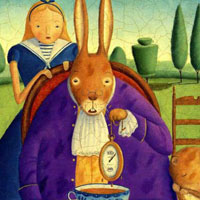 Alison Jay «Alice's Adventures in Wonderland»