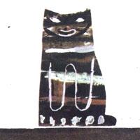 Ewa Salamon «Kot z fajką»