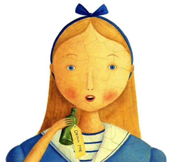 "Alison Jay ""Alice's Adventures in Wonderland"""