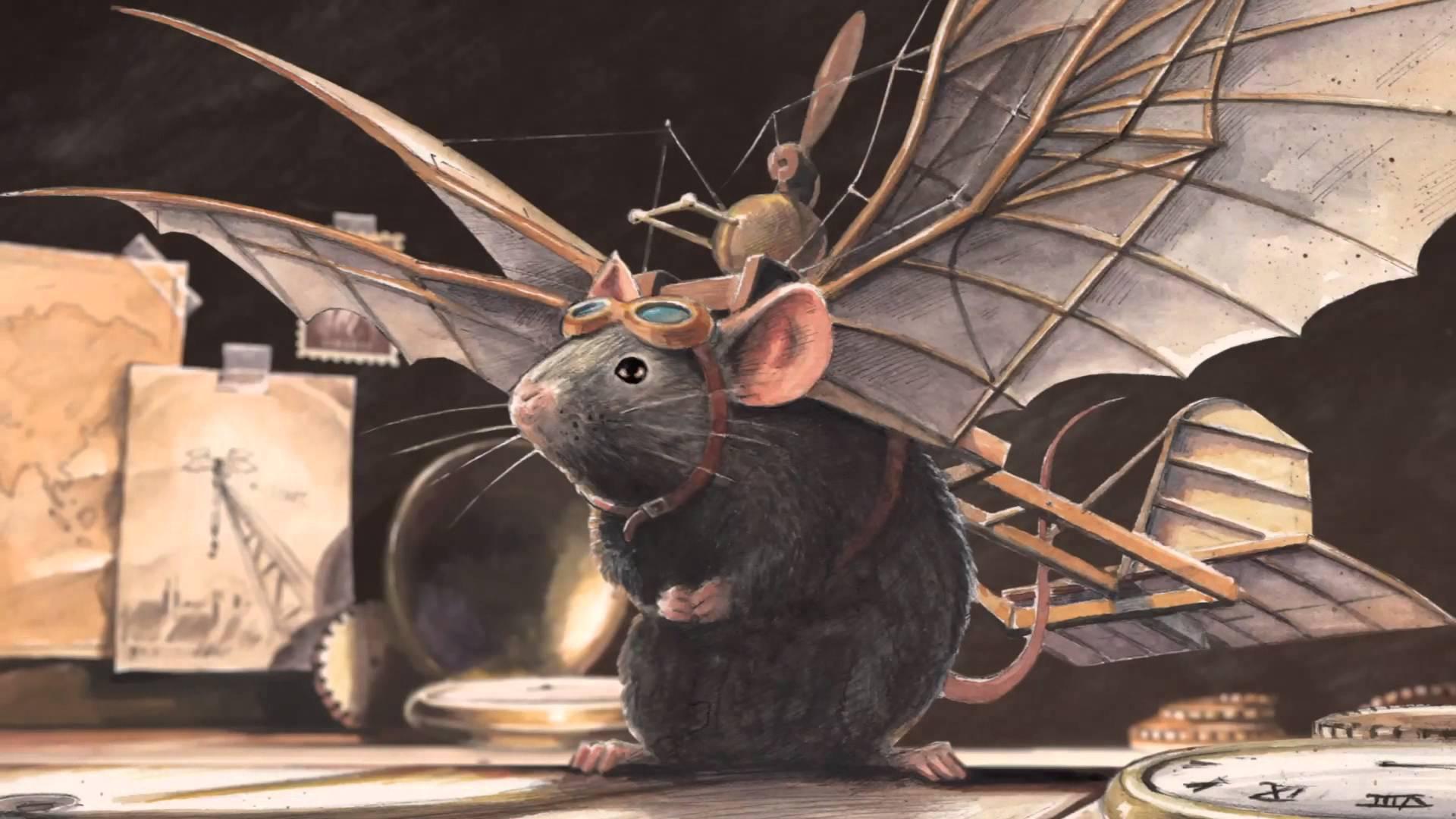 Torben Kuhlmann «Линдберг. Невероятные приключения летающего мышонка»