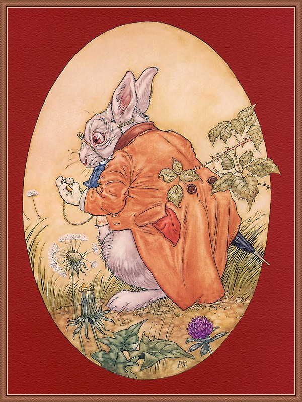 """Angel Dominguez """"Alice's Adventures in Wonderland"""""""