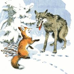 Алексей Комаров «Лиса и волк», «Колобок», «Теремок»