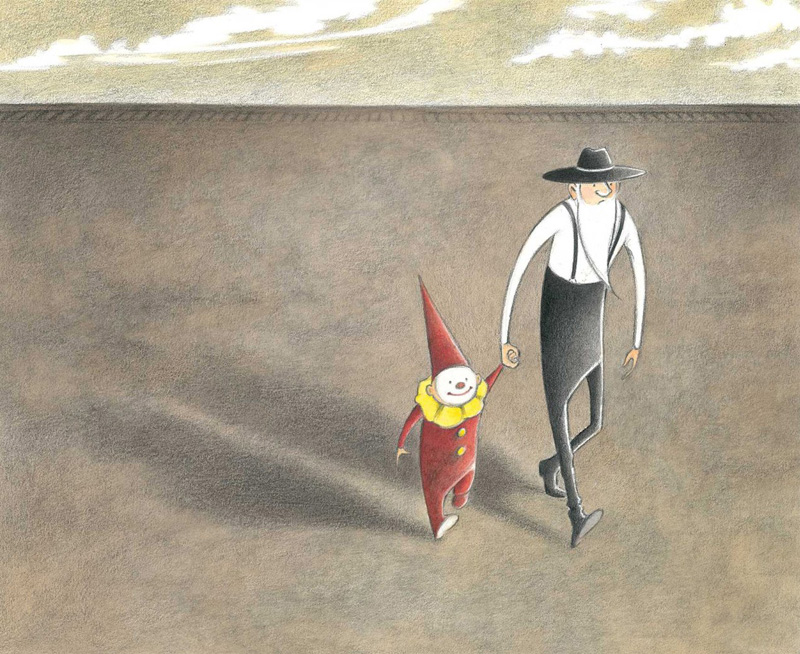 """Marla Frazee """"The Farmer and the Clown"""""""