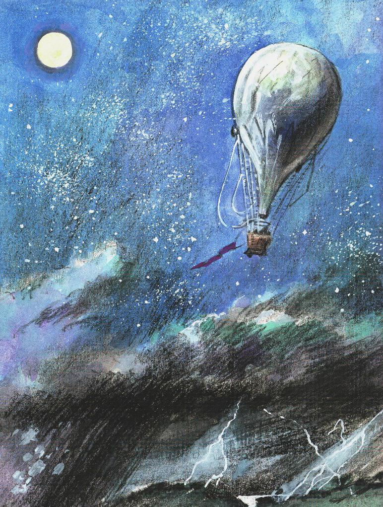 """Петр Любаев """"Пять недель на воздушном шаре"""""""