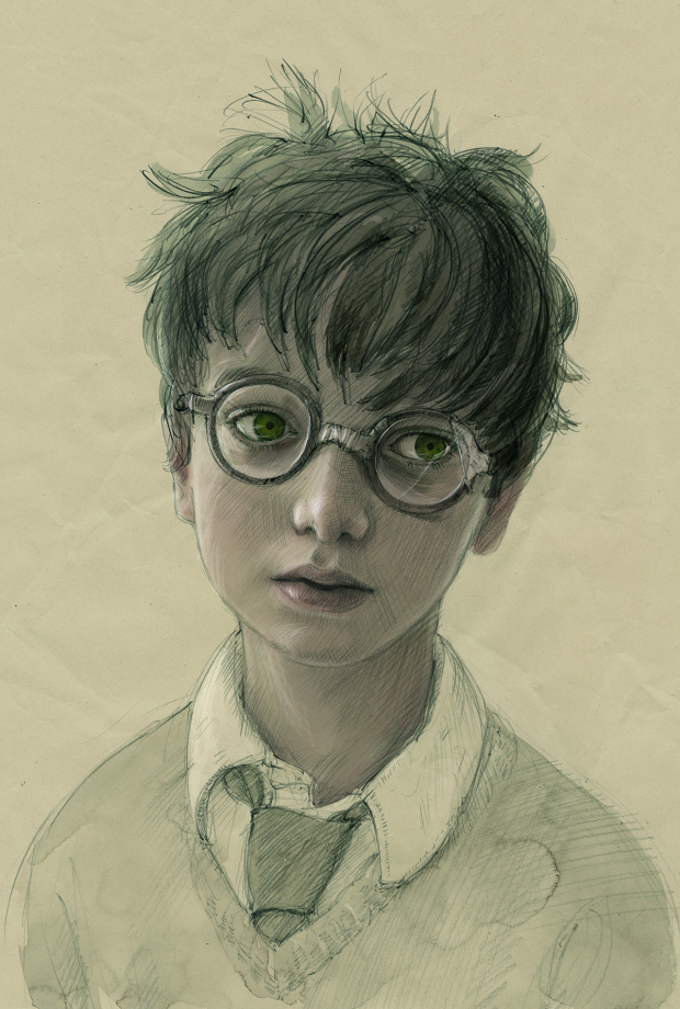 "Jim Kay ""Harry Potter and the Sorcerer's Stone"""