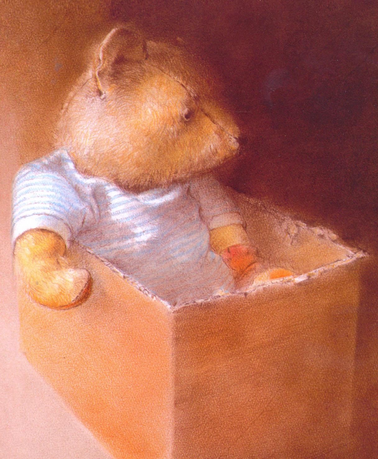 """Robert Ingpen """"Мишка-никудышка"""""""