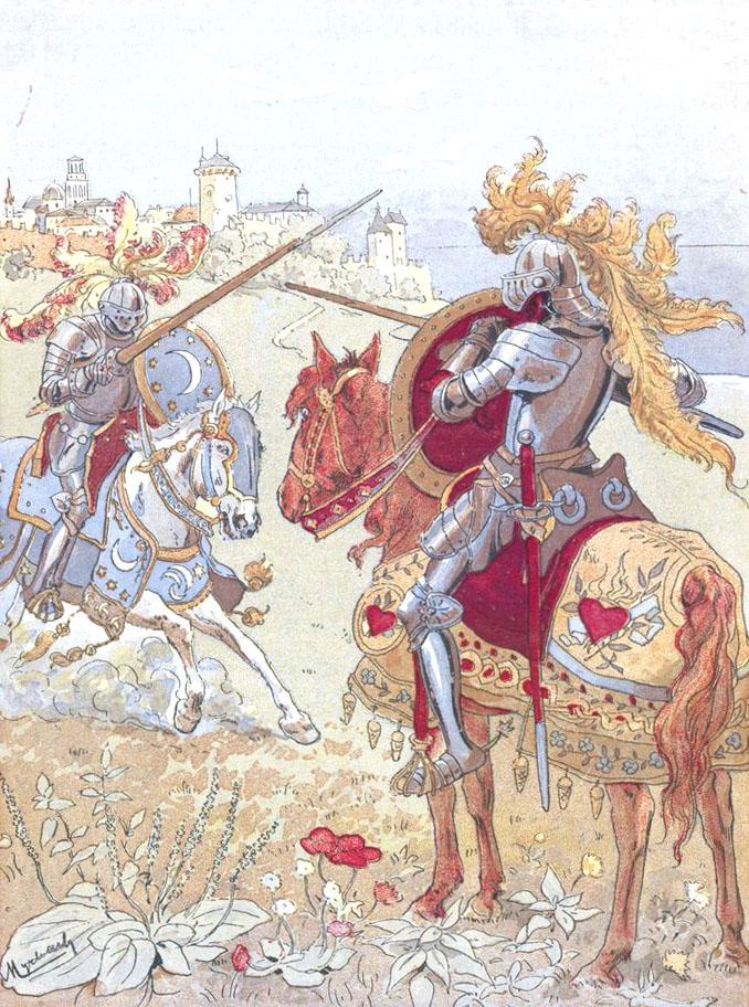 "Felician Myrbach ""Don Quichotte"""
