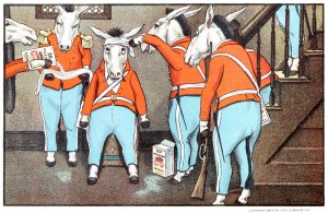 "Peter Newell ""The 20-Mule-Team Brigade"""