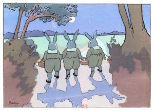 """Henriette Delalain """"Histoire de six petits lapins"""""""
