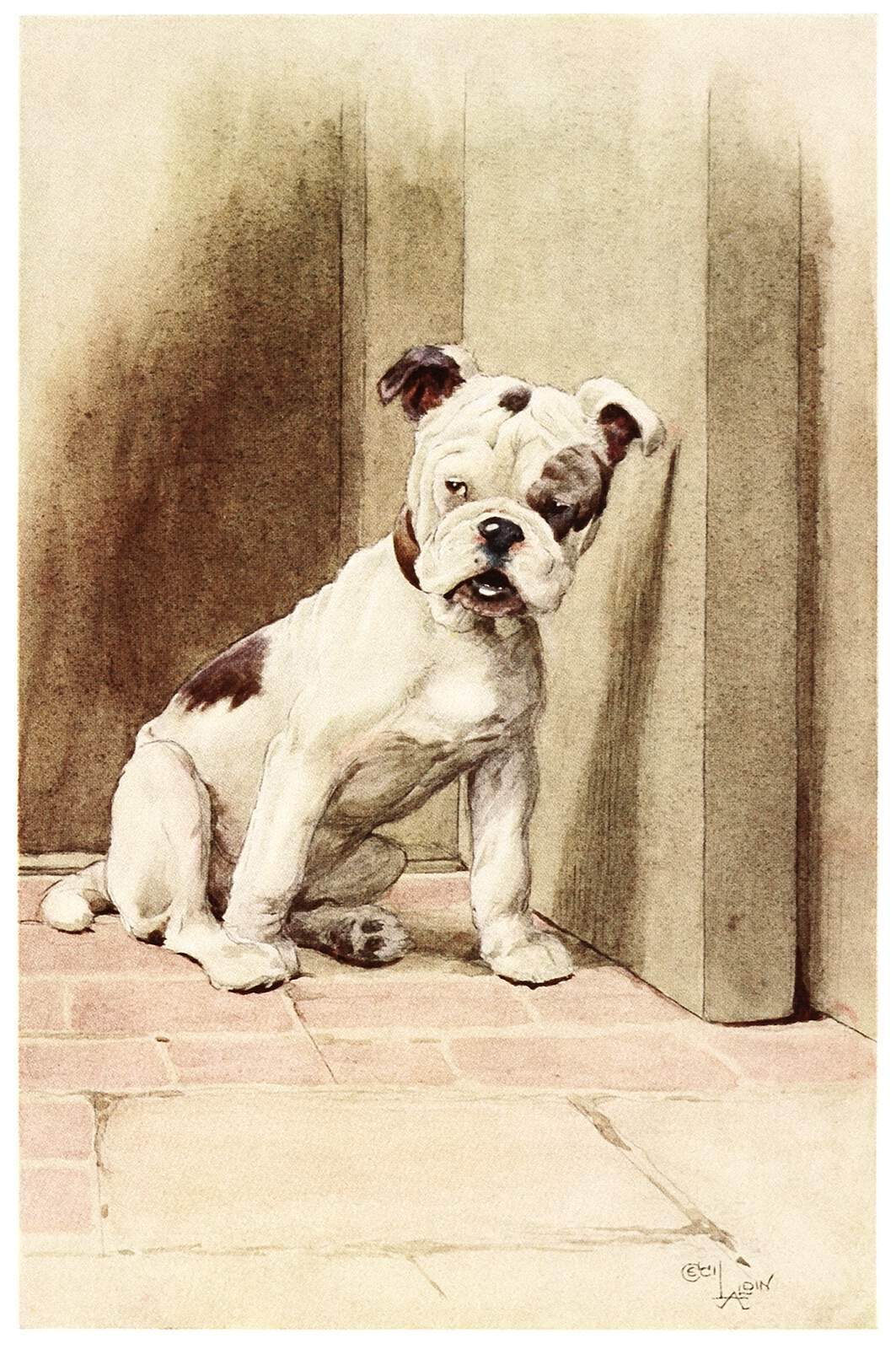 "Cecil Aldin ""My dog"""