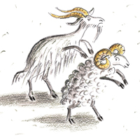 Мария Воронцова «Про деда Игната, волка Евстифейку и козла Козьму Микитича»