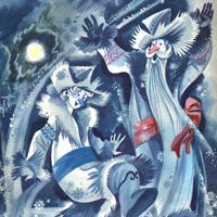 Николай Шеварев «Два мороза»