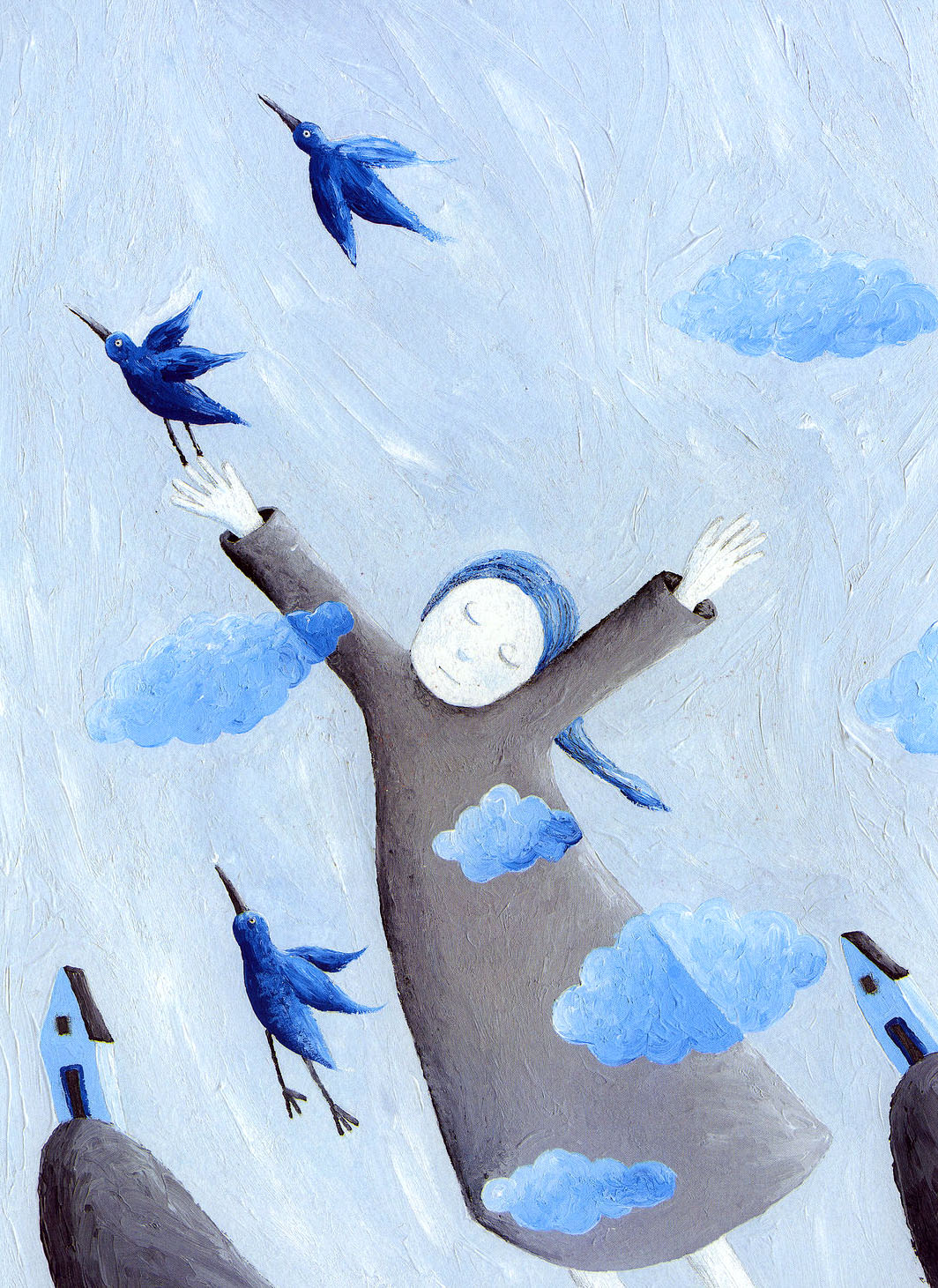 "Andrea Petrlik Huseinović ""The blue sky"""